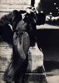 Jeanette Christiansen by Helmut Newton, Vogue Paris, September 1971