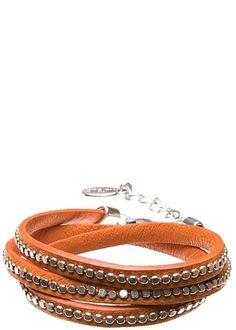 Hultquist Armband Läder Orange