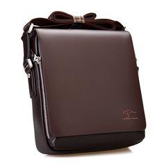 New Arrived luxury Brand men's messenger bag Vintage leather shoulder bag Handsome crossbody bag handbags. Vintage Leather Messenger Bag, Messenger Bag Men, Leather Crossbody Bag, Crossbody Bags, Leather Briefcase, Cuir Vintage, Vintage Men, Vintage Bags, Vintage Style
