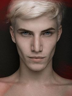 Why do guys with platinum blond hair always look like good villains?