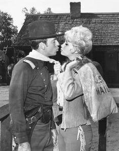 F Troop Wrangler Jane (Melody Patterson) & Captain Parmenter (Ken Berry)