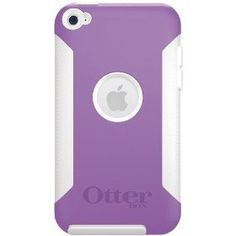 OtterBox Commuter Series Hybrid Case for iPod touch 4G (Purple/White) On Sale For $23.94 !!