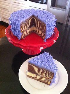 ... ! on Pinterest | Henna wedding cake, Layer cakes and Purple zebra