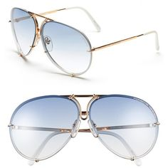 Men's Porsche Design 'P8478' 66Mm Aviator Sunglasses ($500) ❤ liked on Polyvore featuring men's fashion, men's accessories, men's eyewear, men's sunglasses, yellow gold, mens eyewear, mens oversized sunglasses, mens sunglasses and mens aviator sunglasses