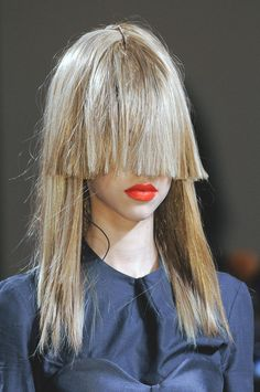 One comment called it cousin Itt, but I kinda like it. might be my next haircut. watcha think?