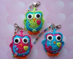 crochet-bag-charm-keychain