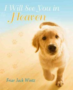Friar Jack Wintz wants you to know--the Bible gives us many clues that we will be with our pets in heaven for eternity! Our God is a God of overflowing love, goodness, and beauty who is ready to give