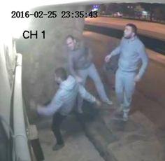 ANTI-CHRISTIAN  ATTACK -Security camera recorded attack on church building in Samsun, Turkey. (Morning Star News)