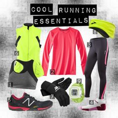 Running Gear for Cool Weather - just the essentials.