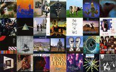 Pink Floyd - Montagem - Capas
