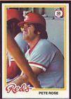 For Sale: Pete Rose 1978 Topps Baseball Card # 20 Cincinnati Reds High Grade NM+/MINT ! http://sprtz.us/RedsEBay
