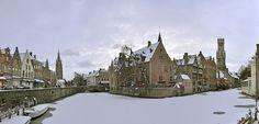 :Brugge Rozenhoedkaai Winter