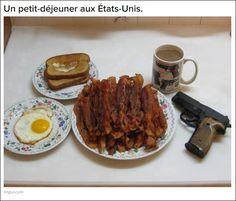 24 différences entre la nourriture en France et celle des USA !!