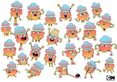 The Amazing World of Gumball Cartoon Network - Virginie Kypriotis - Character design, freelance designer Character Model Sheet, Character Poses, Character Modeling, Character Design References, Character Drawing, Character Concept, Concept Art, Cartun Network, Expression Sheet