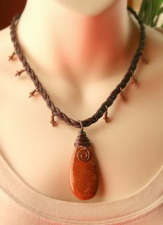 Native Princess  Copper Wrapped Fossil by AllowingArtDesigns, $48.00