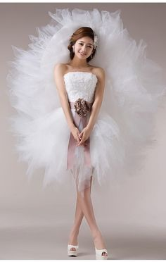 Short Princess Wedding Dresses Pertaining To Short Wedding Dress