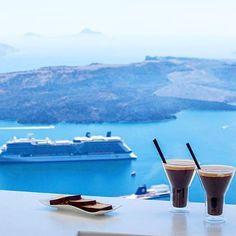Kalimera Good Morning @ju.liette #santorini #greece