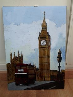 London Painting 42cm x 30cm