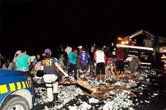 Noticiário de Hoje: Caminhão de cerveja tomba e uma pessoa morre na BR...