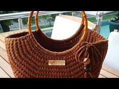 Diy Crochet Bag, Crochet Bag Tutorials, Crochet Instructions, Crochet Videos, Crochet Handbags, Crochet Purses, Bag Pattern Free, Crochet Cardigan Pattern, Handbag Patterns