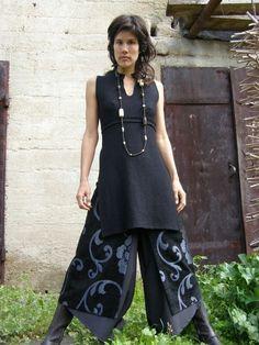 Chic gonna-arte Womens Clothing Abbigliamento-donna da