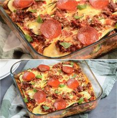 Lchf, Keto, Pepperoni, Vegetable Pizza, Squash, Quiche, Breakfast, Food, Cooking Ideas
