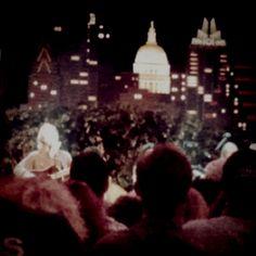 Jeff Bridges singing songs to Austin Texas.