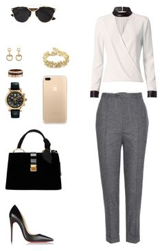 """House of Madalani"" by houseofmadalani on Polyvore featuring Isabel Marant, Exclusive for Intermix, Christian Louboutin, Miu Miu, Versace, Chanel, Cartier and Gucci"