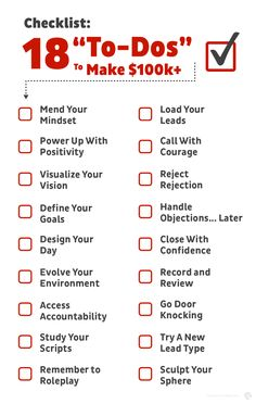 18 To-Dos To Make $100k+ Prospecting Real Estate Leads - REDX Exposure Therapy, Lead Management, Lead Type, Real Estate Leads, Staying Positive, How To Stay Motivated, Positivity, Led, Optimism