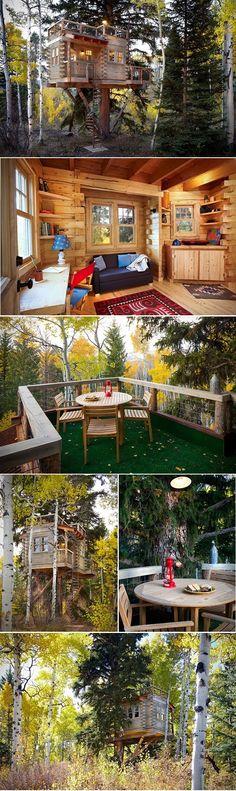 Cozy Colorado Treehouse