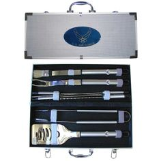 Siskiyou Sports Air Force BBQ Set, 8-Piece >>> Read more reviews of the product by visiting the link on the image.