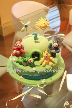Teletubbies Cake by lalberodizucchero