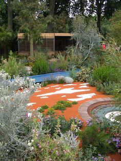The Australian Garden, RHS Chelsea Flower Show, London, 2011 Australian Native Garden, Australian Plants, Colorful Garden, Green Garden, Landscape Design, Garden Design, Bush Garden, Native Gardens, Backyard Plants