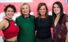 Ilana Glazer and Abbi Jacobson for Hillary Clinton