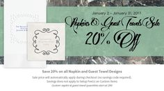Napkin Promotion