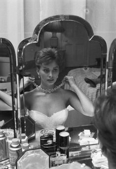 I used to change my hair color almost every day...one day I would be a redhead, the next a blonde and finally a brunette. Sophia Loren