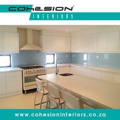 Cohesion Interiors manufacture and coat high quality, value-added glass for use in many residential and commercial applications. Glass Bathroom, Bathroom Renovations, Table, Kitchens, Commercial, Interiors, Furniture, Coat, Design
