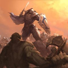 Counterattack of Alliance by YanmoZhang.deviantart.com on @DeviantArt
