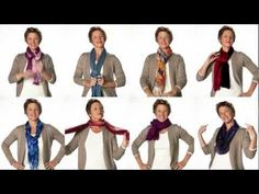 We love this helpful video on new ways to tie a #scarf from Coldwater Creek!