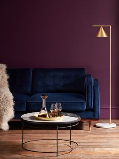 Shop for Swoon at John Lewis & Partners. Plum Living Rooms, Paint Colors For Living Room, Burgundy Living Room, Sofa Colour Combinations, Wall Color Combination, Home Office Decor, Home Decor Bedroom, Room Decor, Plum Room