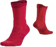 the best attitude 88d02 3796f Nike Mens Womens Elite Crew Red Basketball Socks 6-8 (M) 6-10 (W) SX5369-657