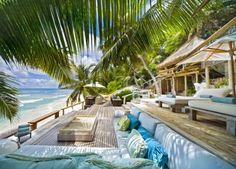 Sally Lee by the Sea | Tropical Beach Villa!! | http://nauticalcottageblog.com