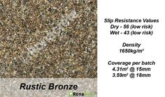 Select a variety of RonaDeck Resin Bound Surfacing samples free of charge to help you make a decision on the colour