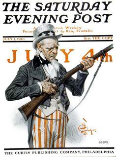 J.C. Leyendecker, July 1, 1916