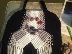 Macrame purse, for my sister.