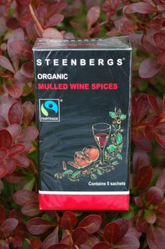 Steenbergs Organic Fairtrade Mulled Wine Spice Sachets find them in a wide variety of independent shops or buy online.