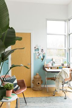 31 Days of Color: Office Makeover Reveal | Paper and Stitch