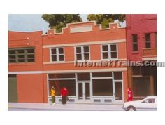 Smalltown USA HO Scale Dime Store & Offices Kit