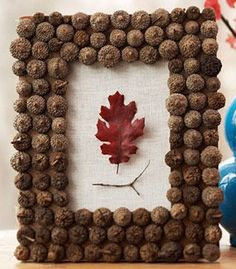 Autumn Home Decoration Ideas – Decorate With Chestnuts and Acorns | Small Room Ideas