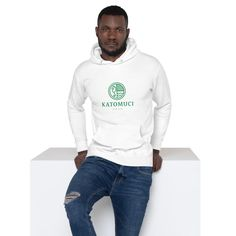 Who knew that the softest hoodie youll ever own comes with such a cool design. You wont regret buying this classic streetwear piece of apparel with a convenient pouch pocket and warm hood for chilly evenings. Jordan Hoodie, Modern Fashion Outfits, Men's Fashion, Street Smart, Fabric Patch, Unisex, White Hoodie, Cool Designs, Graphic Sweatshirt